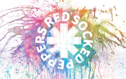 Red Socked Peppers Banner Logo - Red Hot Chili Peppers Tribute aus Hessen